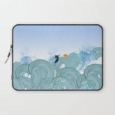 surfing 2 Laptop Sleeve