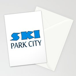Park City Utah Apparel Stationery Cards