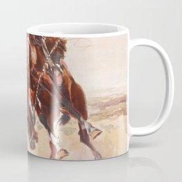 A Bad Hoss Charles Marion Russell Coffee Mug