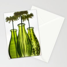 Faux Flowers Stationery Cards