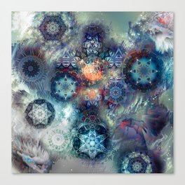 Aztek Sacrifice Asterism Canvas Print