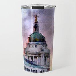 Old Bailey in London Travel Mug