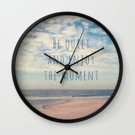 Amrum Moments II Wall Clock