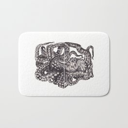 Octopus Invisble Box Bath Mat