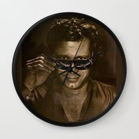 austin Wall Clocks featuring austin by domm