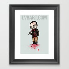 Vampire Bat Framed Art Print