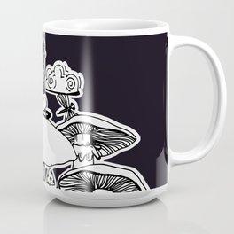 Not Amused - Black Coffee Mug