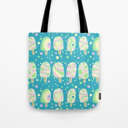Funky Ice lollies Tote Bag