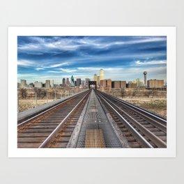Dallas | Texas Art Print