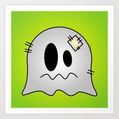 Cute Little Ghost Art Print