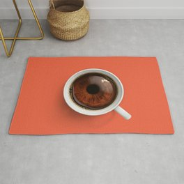 Coffee Eye Rug