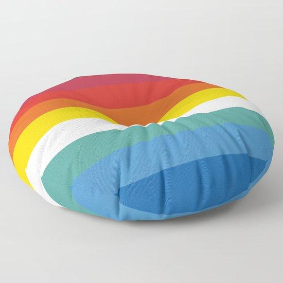 Multicolor Retro Stripes Trickster by alphaomega