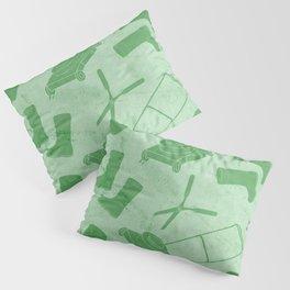 GARDEN TOOL KIT PATTERN Pillow Sham