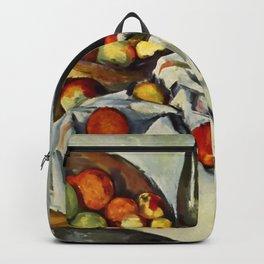 """Paul Cezanne """"Basket of Apples"""" Backpack"""