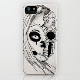 Dia de las muertos iPhone Case