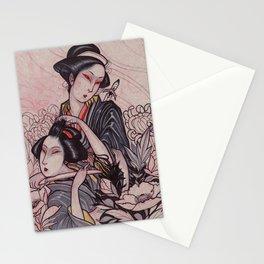 Murderous Geisha Stationery Cards