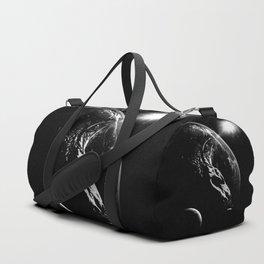 The UNIVERSE in U - black version Duffle Bag