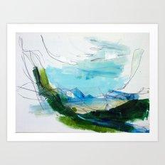 Mindscape/Landscape 1 Art Print