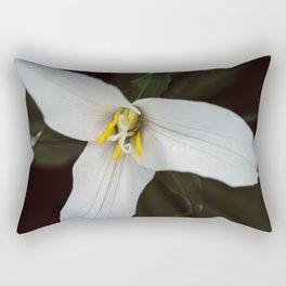 Trillium Thrill Rectangular Pillow