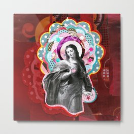 Maria (mãe de Jesus) Mary (mother of Jesus) #3 Metal Print