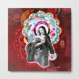 Maria (mãe de Jesus) Mary (mother of Jesus) #3 Metal Print