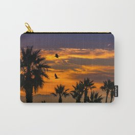 Sunrise in California Carry-All Pouch
