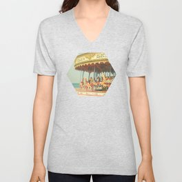 Seaside Carousel Unisex V-Neck