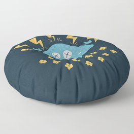 Heavy Metal Mushroom Floor Pillow