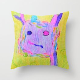 Who am I? -2 Throw Pillow