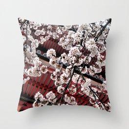 Destiny (Japan) Throw Pillow