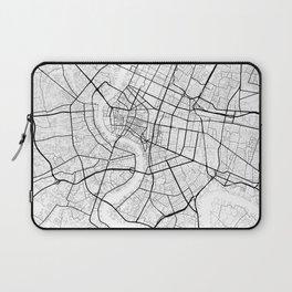 Bangkok Thailand Street Map Laptop Sleeve