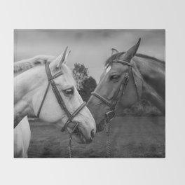 Horses of Instagram II Throw Blanket