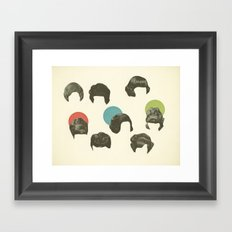 Hair Today, Gone Tomorrow Framed Art Print