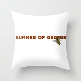 Summer of George Costanza Throw Pillow