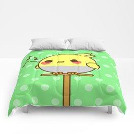 Kawaii birdy Comforters