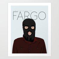 fargo Art Prints featuring Fargo by JayHerron