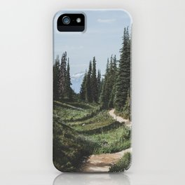Mountain Trail iPhone Case
