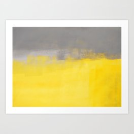 A Simple Abstract Art Print