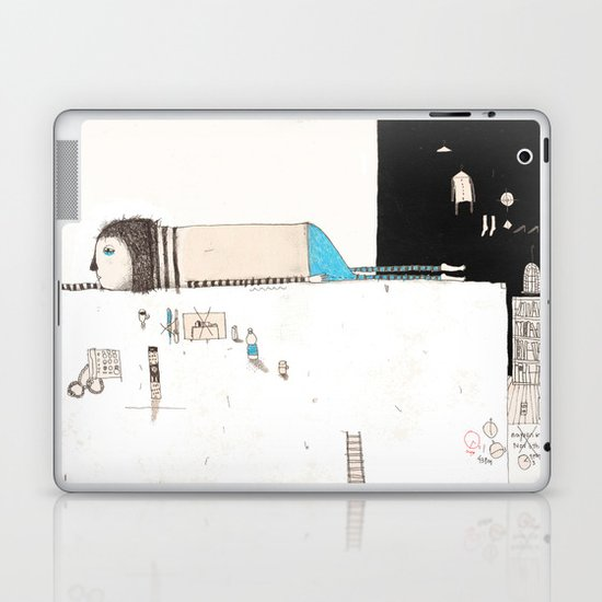 Forgive yourself and move on from your mistakes. Laptop & iPad Skin
