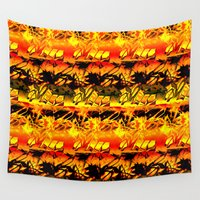 africa Wall Tapestries featuring Africa. by Assiyam