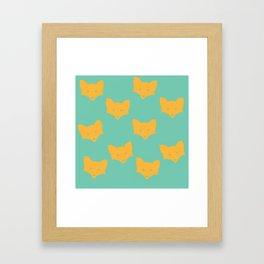 Inner Fox Framed Art Print