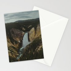 Yellowstone National Park Falls Stationery Cards