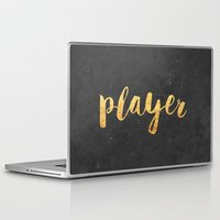 2pac Laptop & iPad Skins featuring Player by Text Guy