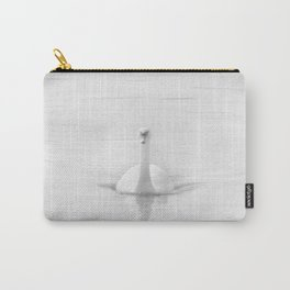 Ghostly White Swan Carry-All Pouch