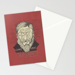 The Beard Stationery Cards