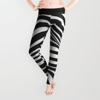 wave Leggings featuring Wave by Tracie Andrews