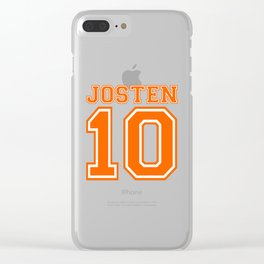 Josten 10 Clear iPhone Case