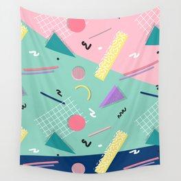 Dreaming 80s Pattern #society6 #decor #buyart Wall Tapestry