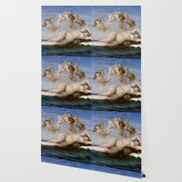 "Alexandre Cabanel ""The Birth of Venus"" (1863) Wallpaper"