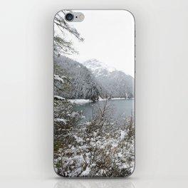Winter wilderness iPhone Skin